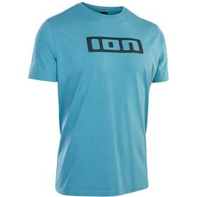 ION Maglietta con logo Uomo, blu